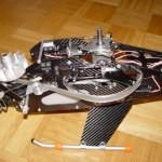 Henseleit Three Dee NT - 3.10 Montage der Motoreinheit am Chassis