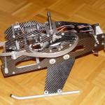 Henseleit Three Dee NT - 3.5 Push-Pull-Hebel + 3.6 Einbau der Taumelscheibenservos